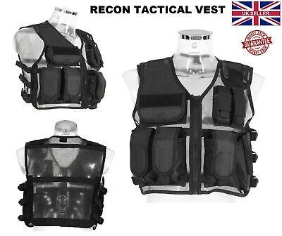 Nuovo Recon Tattico Gilet Militare Airsoft Mag Pouch Combat Assalto Gilet Da Caccia-