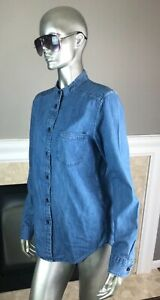 NWT-Filson-INDIGO-Blue-SINGLE-Chest-POCKET-Denim-SHIRT