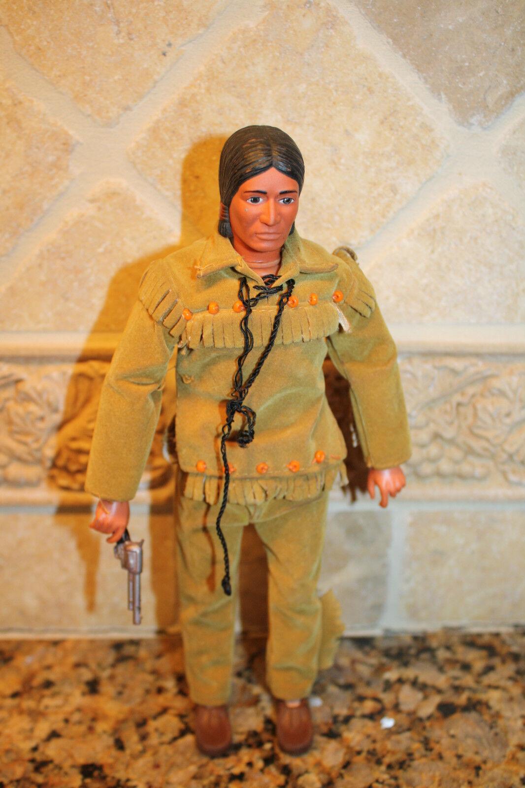 1973 Vintage Gabriel Tonto 10  Figure The Lone Ranger Rides Again