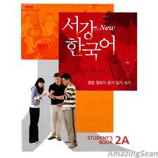 Sogang Korean 2A Student's Book With CD Korean Language Book Conversation BO51