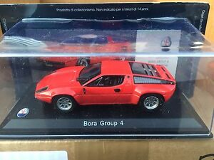DIE-CAST-034-BORA-GROUP-4-1974-034-MASERATI-100-YEARS-COLLECTION-SCALA-1-43