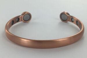 Image Is Loading Mens Bio Celtic Magnetic Copper Bracelet Bangle Arthritis