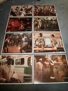 A-SOLDIER-039-S-STORY-1984-HOWARD-ROLLINS-JR-LOBBY-CARD-SET-OF-8-NICE
