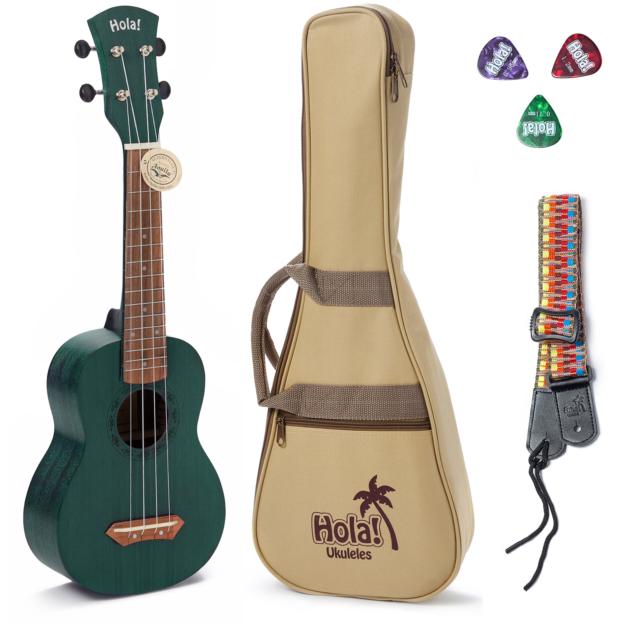 Hola Hm 121mg Deluxe Soprano Ukulele Mahogany For Sale Online Ebay
