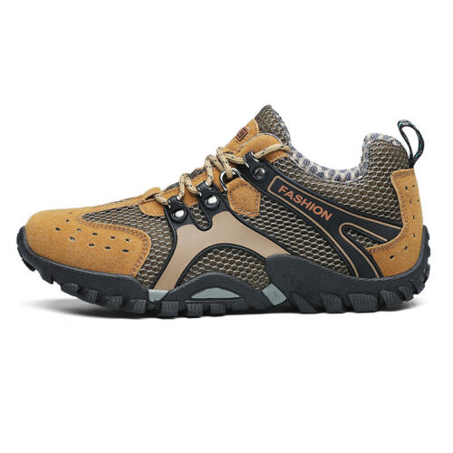 Casuals Shoes Men Fashion Athletic Hiking Outdoor Mesh Sneaker Breathable Sport