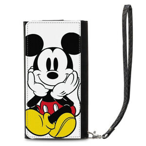 0f9fcc9906f8 Image is loading Disney-Mickey-Mouse-Universal-PU-Leather-Women-Purse-