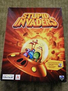 Stupid-Invaders-for-CD-ROM-PC-Big-Box-Complete-Rare-Title