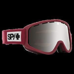 Spy Woot Goggles Ski Snowboard Snow Winter Snowmobile Colorblock Raspberry 2020