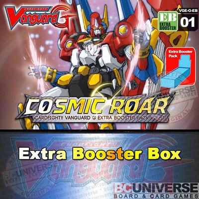 VGE-V-EB01 The Destructive Roar Extra Booster Box Cardfight Vanguard SEALED