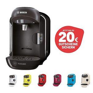 B-Ware Bosch TASSIMO + 20 EUR Gutscheine* Kapsel Heißgetränke Kaffee Maschine
