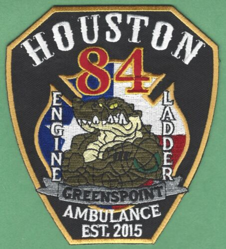 HOUSTON TEXAS FIRE DEPARTMENT STATION 84 COMPANY PATCH