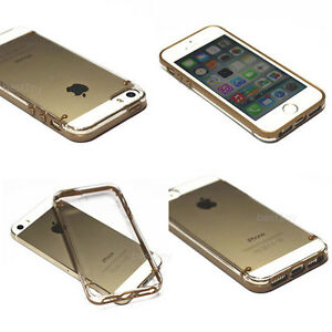 iphone 5s gold case. image is loading gold-shockproof-dirt-dust-proof-hard-crystal-clear- iphone 5s gold case l