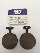 YAMAHA RD400 C REAR BRAKE PADS 1976 AND 1977