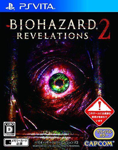 Usado Ps Vita Resident Evil Revelations Japón 2 Importación F   S