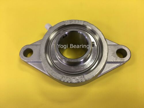 """SUCSFL205-14 7//8/"""" Stainless 2 Bolt Flange Bearing"""