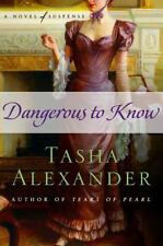 Dangerous to Know: A Novel of Suspense (Lady Emily Mysteries)-ExLibrary