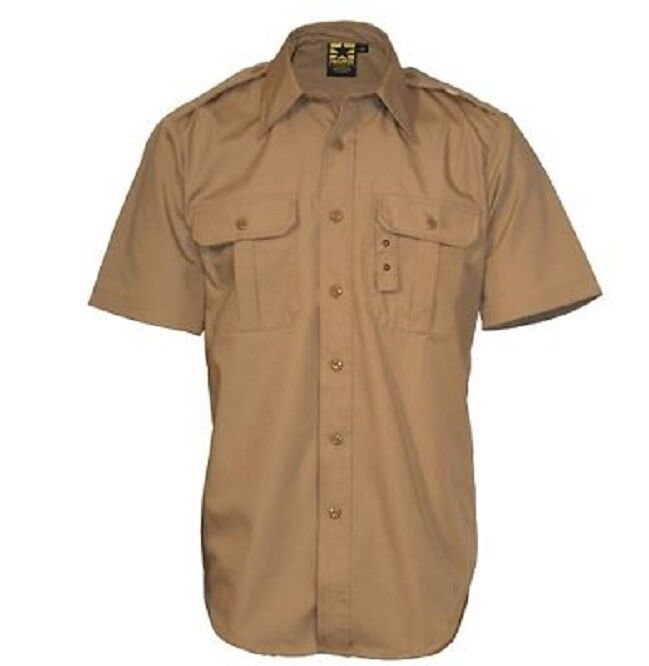 US PROPPER Law Enforcement Tactical lightweight Short Sleeve Camicia Coyote L