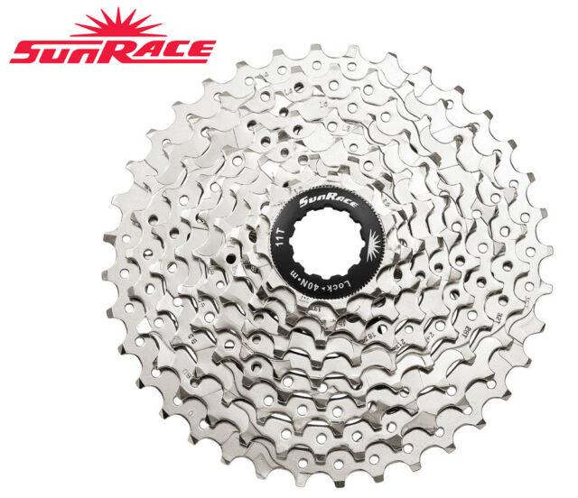 SunRace CSM96 9AU 9-Speed 11-32T bike Cassette bicycle freewheel sliver