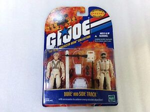 Variante ** Nouveau 2000 Gi Joe Arah Édition Spéciale Collector Duke And Side Track