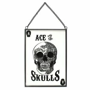 Anatomical-Ace-Of-Skulls-Gothic-Playing-Card-Metal-Glass-Hanging-Sign