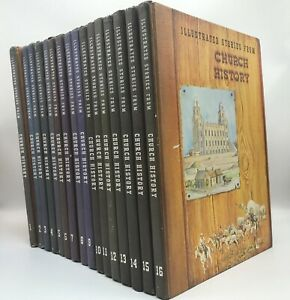 Illustrated-Stories-From-Church-History-First-Edition-Set-16-Volumes-Mormon-LDS