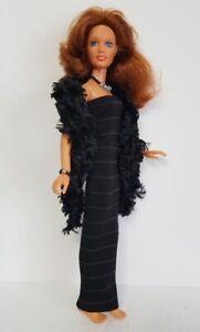 Kenner-DARCI-Doll-Clothes-BOA-DRESS-amp-JEWELRY-Handmade-Fashion-NO-DOLL-d4e