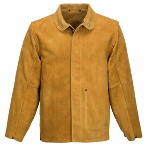 Portwest-Leather-Welding-Jacket-SW34