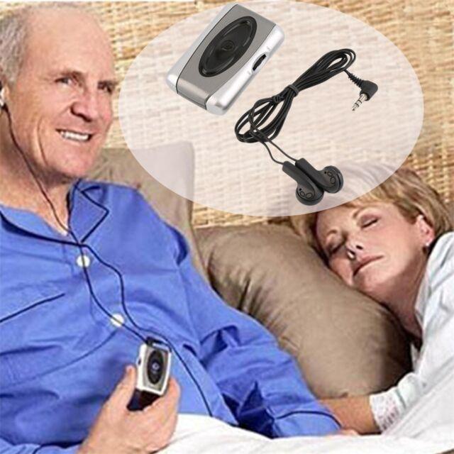 Personal TV Sound Amplifier Hearing Aid Assistance Device Listen Megaphone 2Y