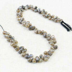Untreated 95.00 Cts 12 Inches Earth Mined Green Garnet Drilled Beads Strand
