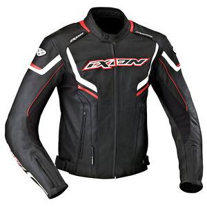 blouson-jacket-homme-IXON-STUNTER-ROUGE-TAILLE-M