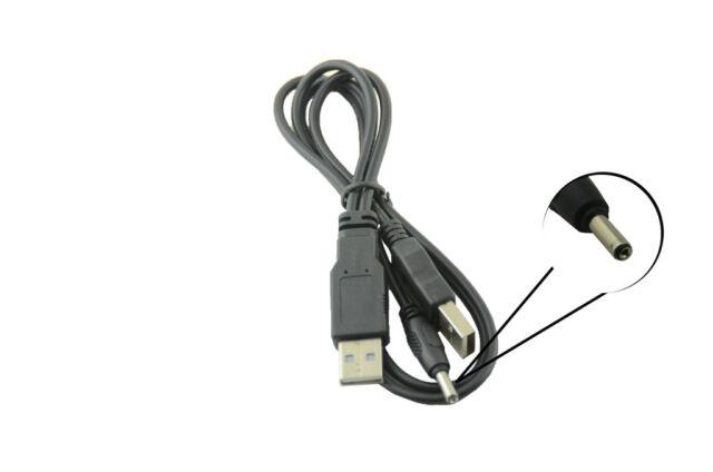 10x USB 2.0 Male To 3.0x1.1mm DC Power Plug Cable Huawei Mediapad S7 Slim Tablet