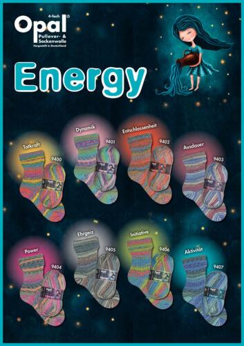 EUR 7,45 100 g Sockenwolle OPAL ENERGY die Kraft der Farben