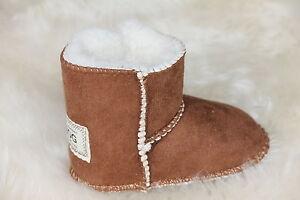 ccc953cab3e Details about Baby Ugg Boots Colour Chestnut Size Medium (M)