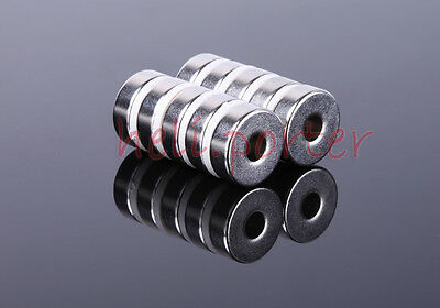 15 x 5 :5mm Hole 15x5 Ring Neodymium NdFeB Magnet N35 Craft Model (OD15H5ID5)