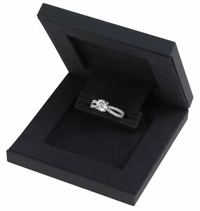 Image Is Loading Slim Hidden Proposal Engagement Ring Box Luxurious