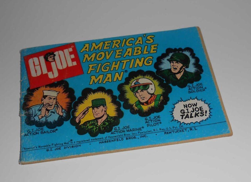 Dukketilbehør, Gi Joe America's moveable fighting man