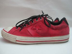 All Baskets Converse Cuir Rouge Sp 7 En Uk 40 Star Hommes Eur Ev 5pqRnn