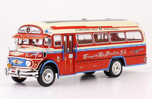 Bus Bus Bus MERCEDES-BENZ LO112 silverina 1969  1 43 New & Box diecast model b971ef