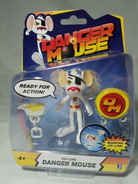 Danger Mouse DANGER MOUSE Zip-Line Zipline Figure Action Figure Collectible Toy