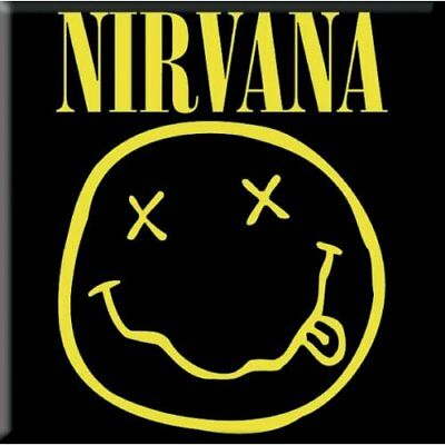Bello Nirvana Fridge Magnet Calamita Logo Official Merchandise
