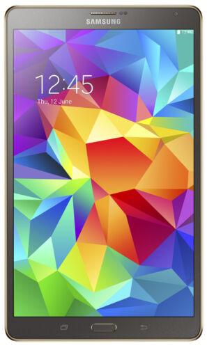 1 von 1 - Samsung Galaxy Tab S SM-T705 16GB, WLAN + 4G (Entsperrt), 21,3 cm (8,4 Zoll) - T