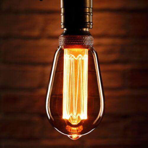 Auraglow Mysa LED Light Bulb Vintage Retro Edison Style Decorative E27 ST64