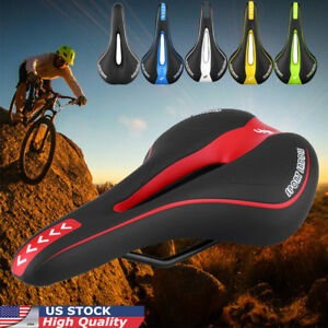 Bicycle-Bike-Cycle-MTB-Saddle-Road-Mountain-Gel-Pads-Sports-Soft-Cushion-Seat