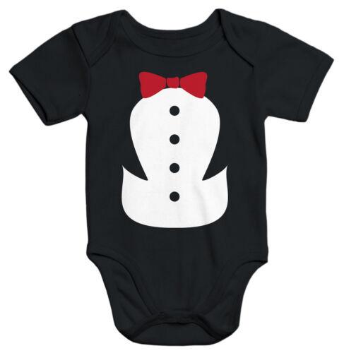 Baby Body Pinguin Fliege Fasching Karneval lustig Moonworks®