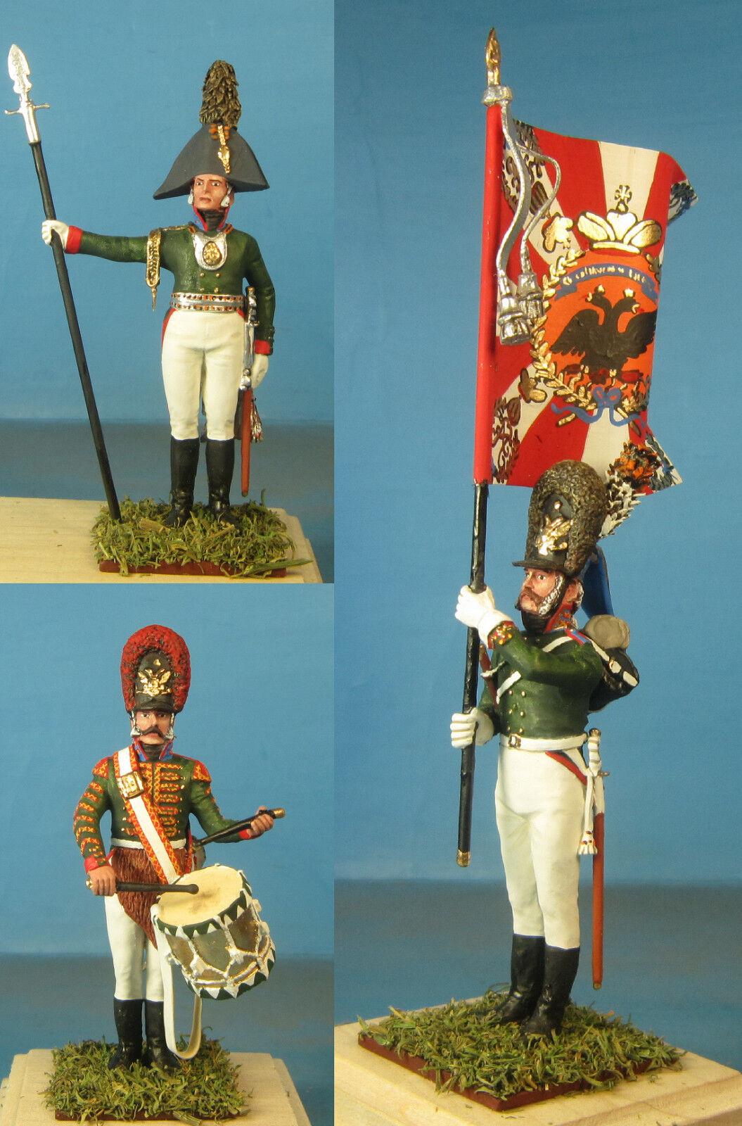 Napoleonic Wars — Life-Guard Semenovski rgt — 60mm High quality Metal Figure