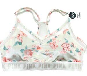 Victorias-Secret-PINK-Ultimate-Velvet-Lightly-Lined-Light-Support-Sports-Bra-L