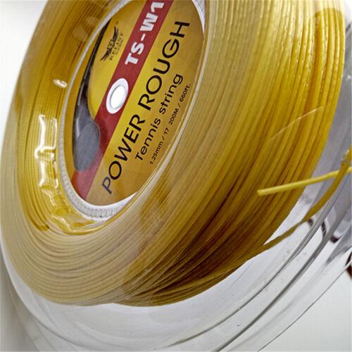 Big Banger  Alu Power Rough 1.25mm 200m Reel Tennis String Gold Yellow