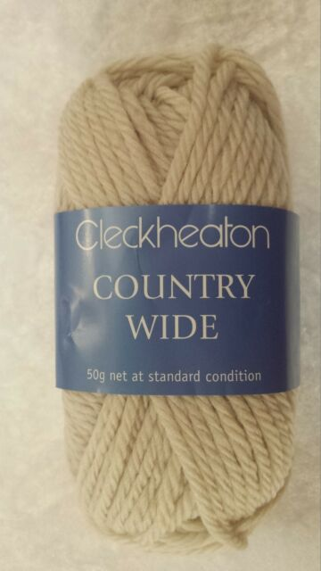081323a61 Cleckheaton Country Wide  0016 Bone Wool 50g 14 Ply for sale online ...
