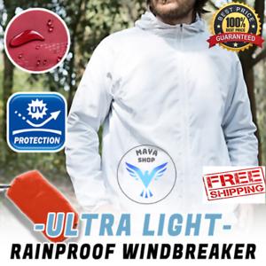 Ultra-léger étanche à La Pluie Costume windkicker Veste Respirant Waterpro pour femmes//hommes