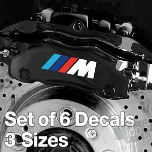 x6-BMW-M-Sport-Badge-Quality-Brake-Caliper-Decals-Stickers-White-amp-Colours
